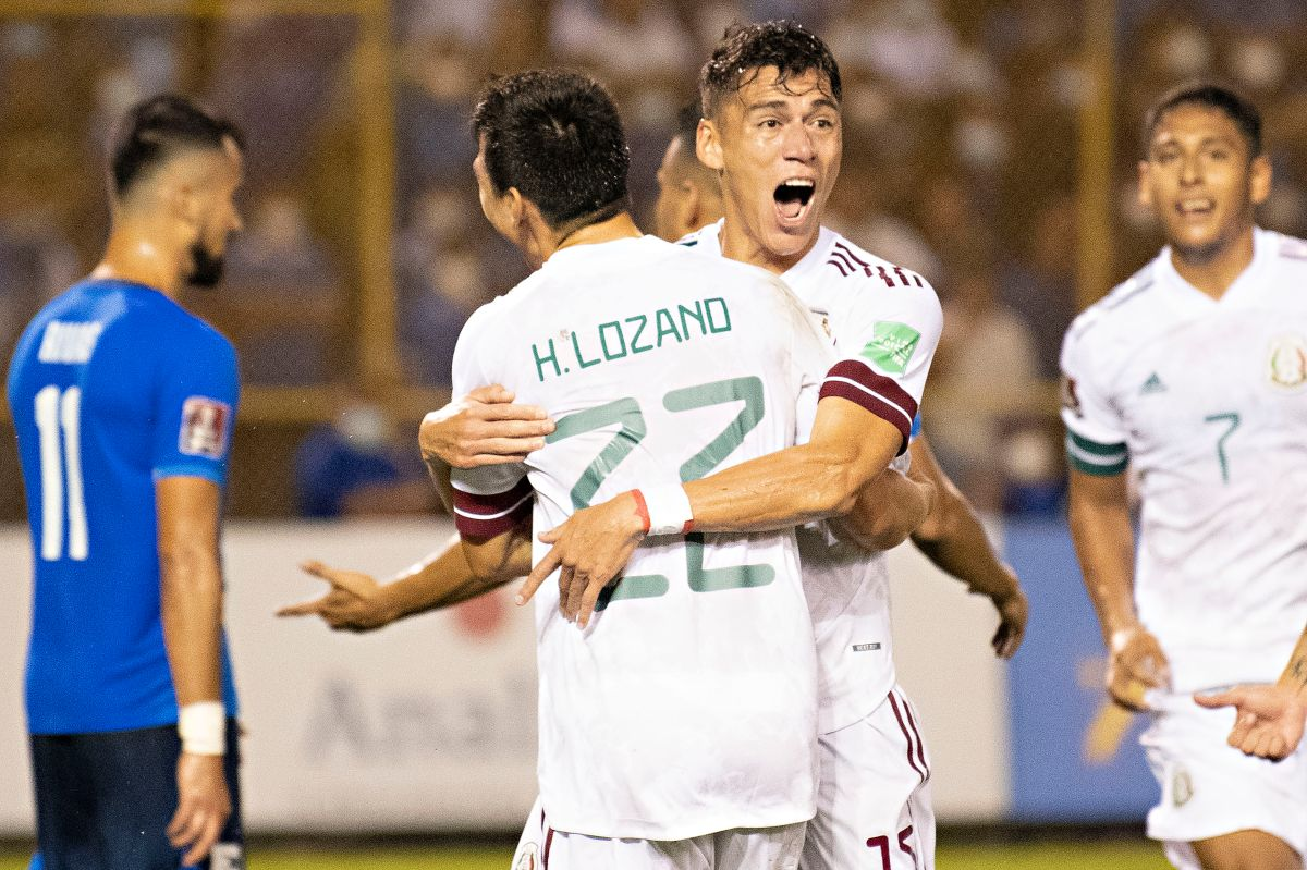 El Tri does not drop the top: Mexico leads the Octagonal of Concacaf after beating El Salvador