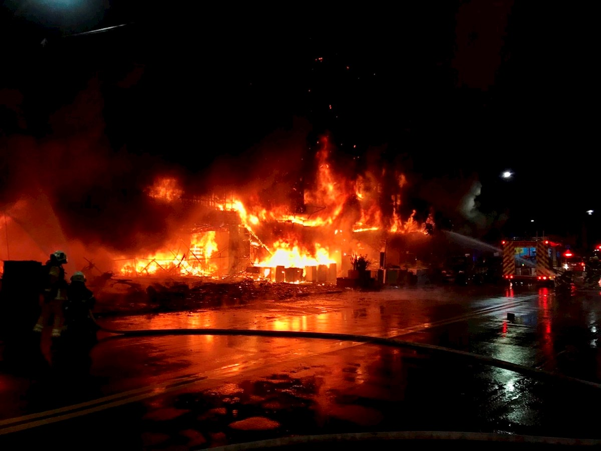 VIDEO: Fire in building in Taiwan leaves 46 dead and dozens injured