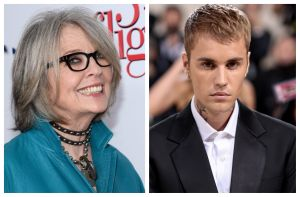"""Justin Bieber recluta a Diane Keaton para el video de su sencillo """"Ghost"""" thumbnail"""