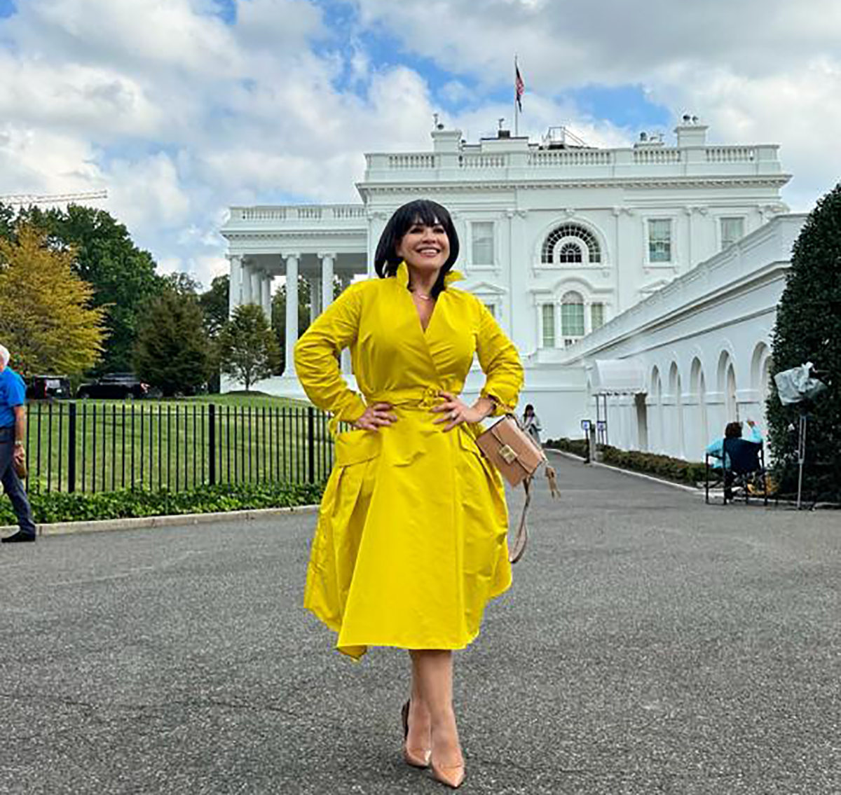Carolina Sandoval is invited by the White House to make her famous lunch, just the day they cancel 'Suelta La Sopa'