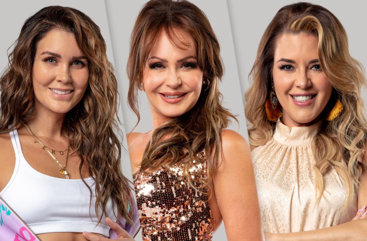 Verónica Montes, Gaby Spanic y Alicia Machado en 'La Casa de los Famosos'.